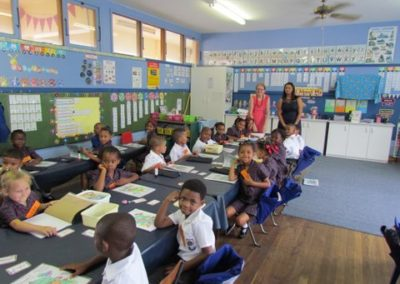In the classroom 2 Moregrove